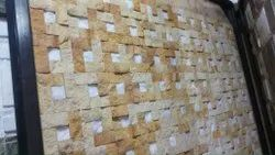 Natural Stone Wall Cladding, Thickness: 15-20 Mm