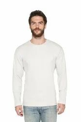 Men Full Sleeve Waffles Blended Fabric Sweatshirts