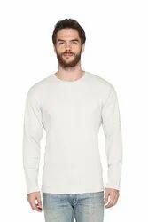 Men Full Sleeve Waffles Blended Fabric Sweatshirts