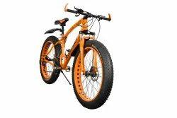 SANXINGCN Orange Jaguar Fat Tyre Cycle