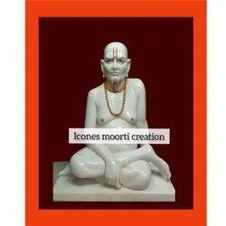 1.3 Feet White Sai Baba Statue