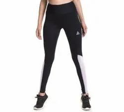 Black, White High Waist Ladies Slim Fit Lower, Size: Available In 26-34(Waist)