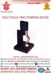 Gold Tool Ring Stamping Device