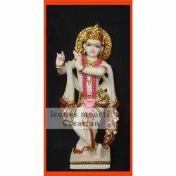 2.3 Feet Krishna Statue