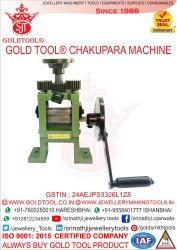 Gold Tool Chakupara Machine
