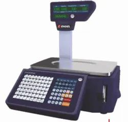 Q9 Barcode Label Printing Scale With WIFI Facility