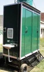 Two Seater Mobile Bio Toilet Van