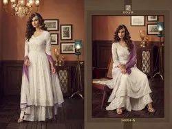 Zoya Designer Georgette With Embroidery Work Salwar Suit