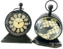 Nirmala Handicrafts Antique Brass Table Watch With Mep