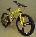 Yellow  Bmw Foldable Cycle