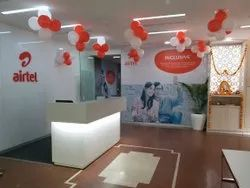 Reception Interior Designing Service, Work Provided: Wall Paper/Paint Work