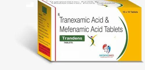 Tranexamic Acid 500mg Mefenamic Acid 250mg Tablets