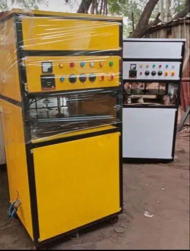 Mild steal Hydraulic Scrubber Packing machine