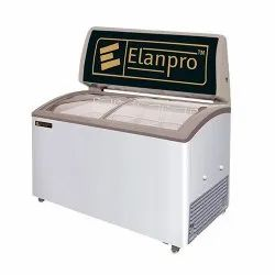 Chest Freezer Curved Glasstop 205Ltr Elanpro