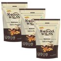 Makhanawalas Roasted Makhana (Foxnuts) Salt & Pepper Pack of 3 80 g Each.