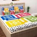 CL Brand Ludo Design King Size Double Bed Sheet Factory Outlet