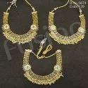 Kundan Polki Necklace Set