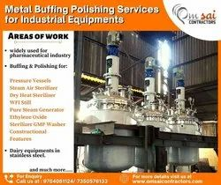 Metal Buffing Polishing Services for Industrial Equipments