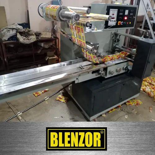 Servo Based Flow Wrap Machine