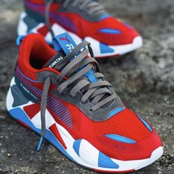 Red PUMA SHOES FOR MEN