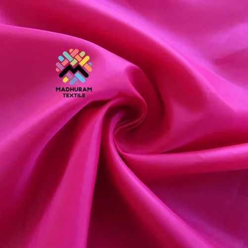Top Dyed Polyester Taffeta Silk Fabric