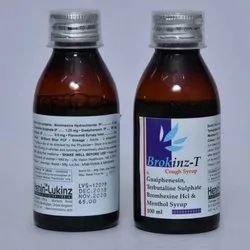 Guaiphenesin Terbutaline Sulphate Bromhexine HCL And Menthol Syrup 100ml