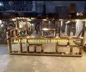 Stainless Steel New Golden Catering Counter