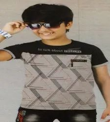 kids boys casual wear printed T.Shirt