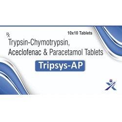 Trypsin-Chymotrypsin Aceclofenac And Paracetamol Tablets