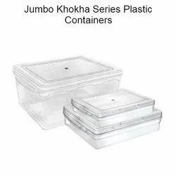 Transparent Jumbo Khokha Storage Box