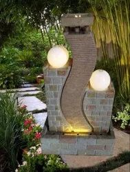 WATER FOUNTAIN WITH LED LIGHT