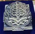 Natural Crystal Shree Yantra - 648 gram