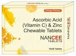 Ascorbic Acid & Zinc Tablets (Nancee Tablets)