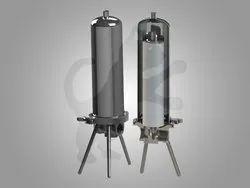 Metallic Single -Cartridge Industrial Housing