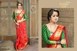 Fancy Ladies Indian Wear Patola Saree