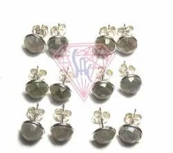 Gemstone Labradorite Earrings