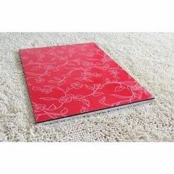 Red Printed PVC Sheet, Thickness: Approx 3mm, Size: 8x4 Feet