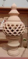 Round Jharna Lamp