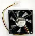 Black Fba08a24h Panaflo Cooling Fan, For Cnc Machine, Size: 80x80x25