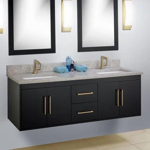 Wooden Bathroom Vanity Cabinet Size 4, Double Vanity Cabinet