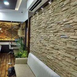 Calgary Mossy Oak Flex Stone Wall Cladding