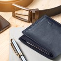 Slide Case Men's Wallet - Ink