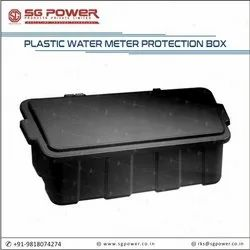 Plastic water meter protection box