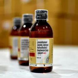 Levosulbutamol, Ambroxal, Guaiphensin