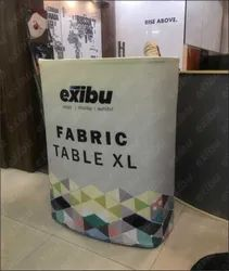 Tension Fabric Pop Up Table