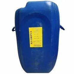 Klorina Bleach Liquid, Drum, 50 L