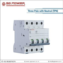 MCB Three Pole with Neutral (TPN)