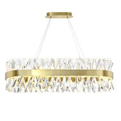 LED Glass Classic Crystal Chandelier