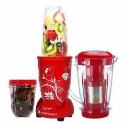 400 Wonderchef Nutriblend with Juicer Attachment, For Home