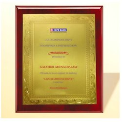 FP 10751 Golden Certificate Memento